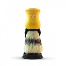 Omega šepetėlis su stovu. Geltonas
