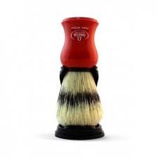 Omega šepetėlis su stovu. Raudonas