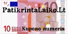10 EUR dovanų kuponas
