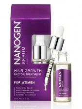 Nanogen Hair Growth Factor Treatment Serum Plaukų augimą skatinantis serumas moterims, 30ml