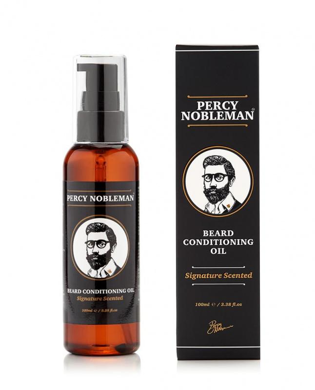 Percy Nobleman Signature kvapo barzdos aliejus