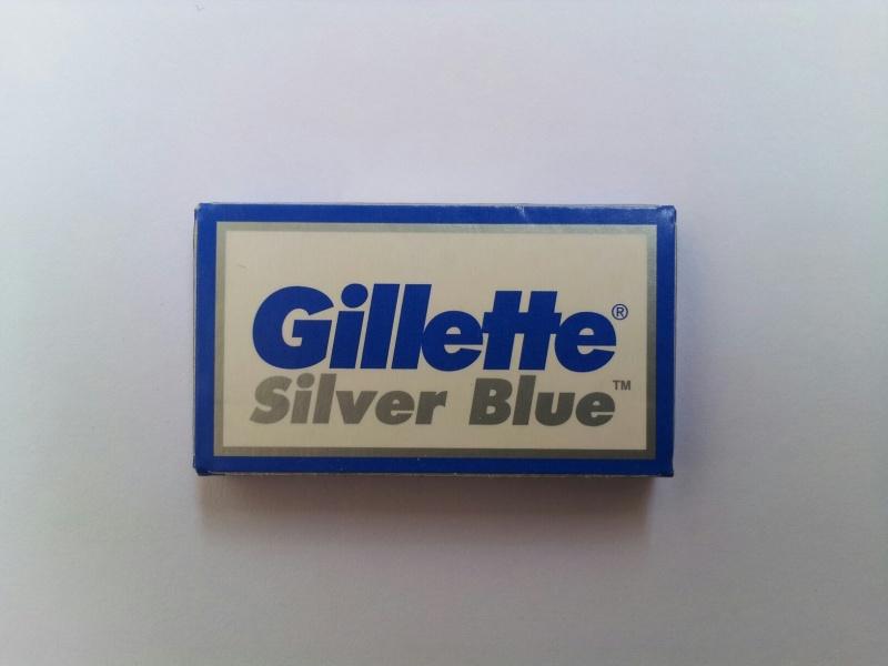 Gillette Silver Blue peiliukai