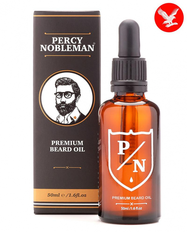 Percy Nobleman Premium barzdos aliejus