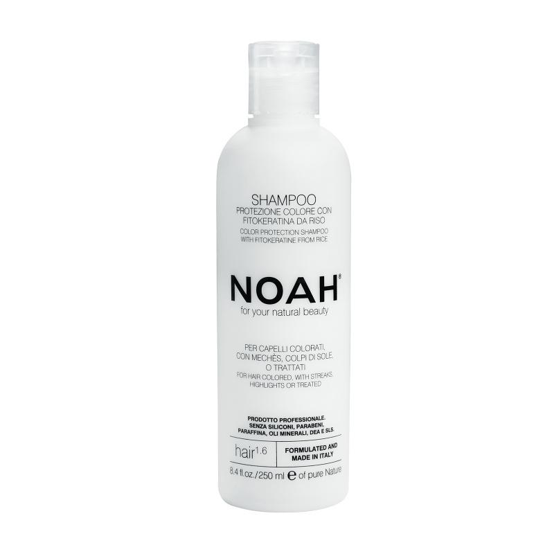 Noah 1.6. Šampūnas dažytiems ir sruogelėmis dažytiems plaukams, 250 ml