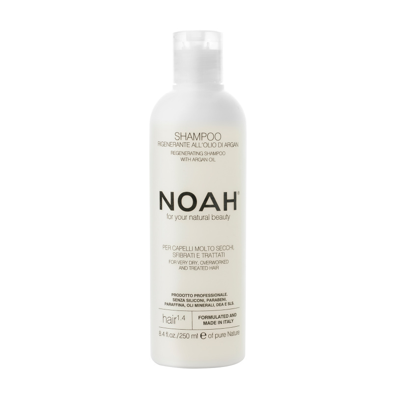 Noah 1.4. Šampūnas sausiems ir chemiškai pažeistiems plaukams, 250 ml
