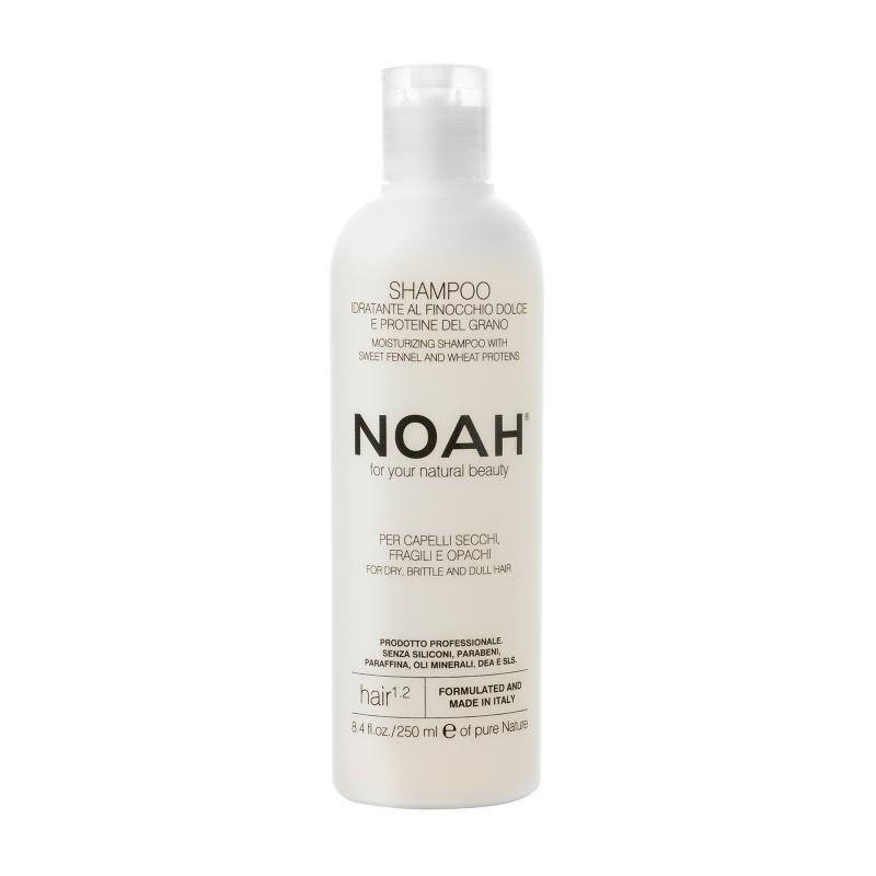 Noah 1.2. Šampūnas sausiems ir lūžinėjantiems plaukams, 250 ml