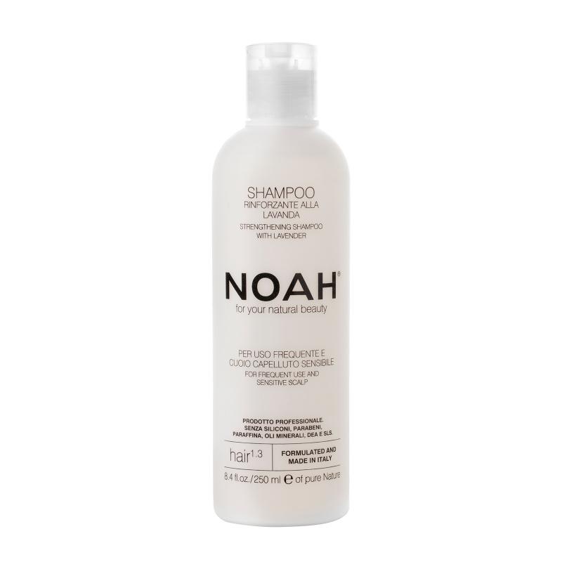 Noah 1.3. Šampūnas kasdieniam naudojimui, jautriai galvos odai, 250 ml