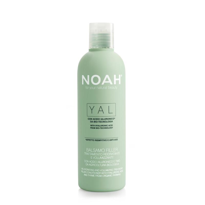 Noah Atkuriamasis drėkinantis ir purumo suteikiantis balzamas su hialurono rūgštimi ir čiobreliais iš organinių ūkių, 250 ml