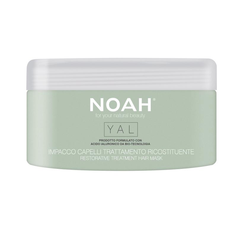 Noah Atkuriamojo poveikio plaukų kaukė su hialuronu, 200 ml