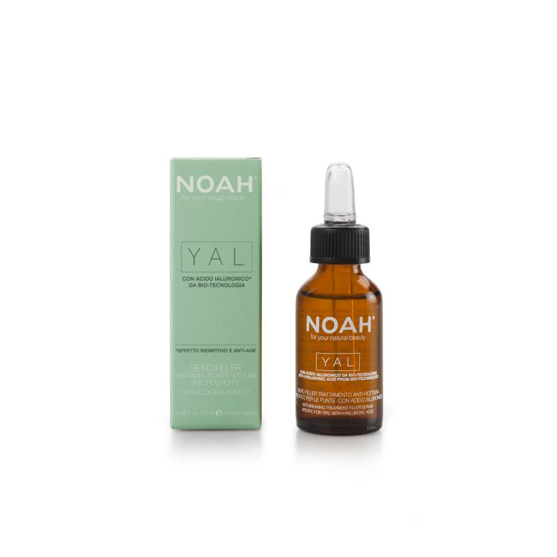 Noah Atkuriamasis hialurono serumas lūžinėjantiems ir pažeistiems plaukams, 20 ml